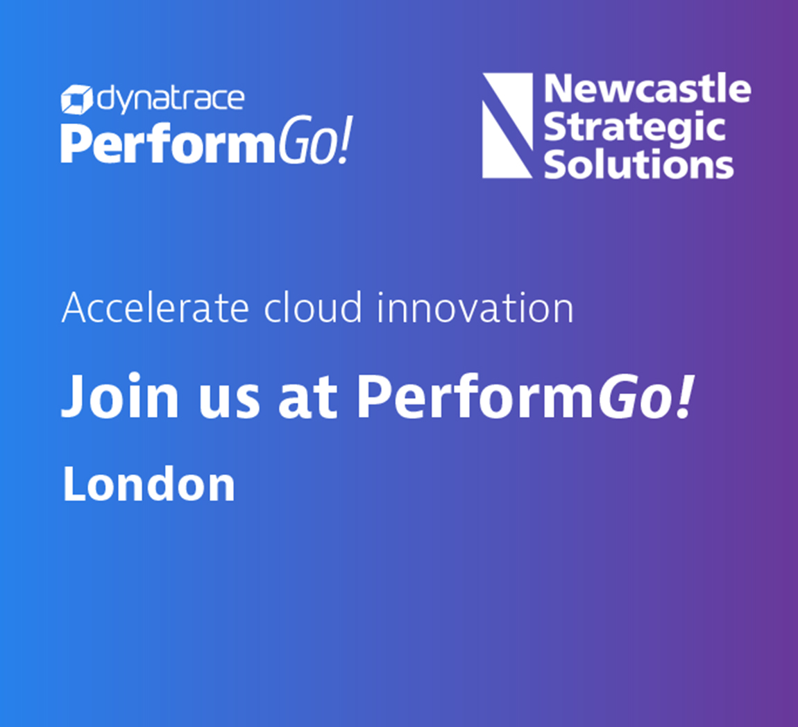 Newcastle Strategic Solutions at Dynatrace Perform Go London
